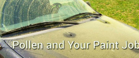Pollen and your paint job