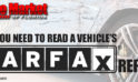 Why You Need To Read A Vehicle's CARFAX Report