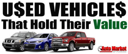 Used Vehicles That Hold Their Value