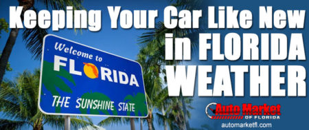 Keeping Your Car Like New In Florida Weather
