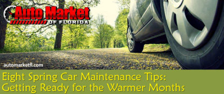 8 Car Maintenance Tips For Spring