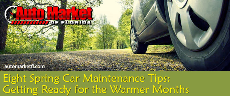 8 Car Maintenance Tips For Spring