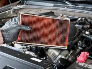 Inspect air filter