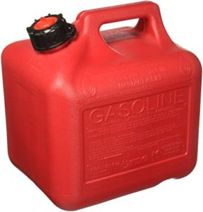 Empty gas can