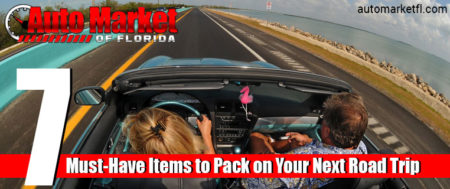 7 Must-Have Items To Pack On Your Next Road Trip