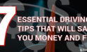 Important Driving Tips That Save Money
