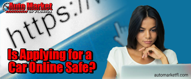 Is Applying for a Car Online Safe?